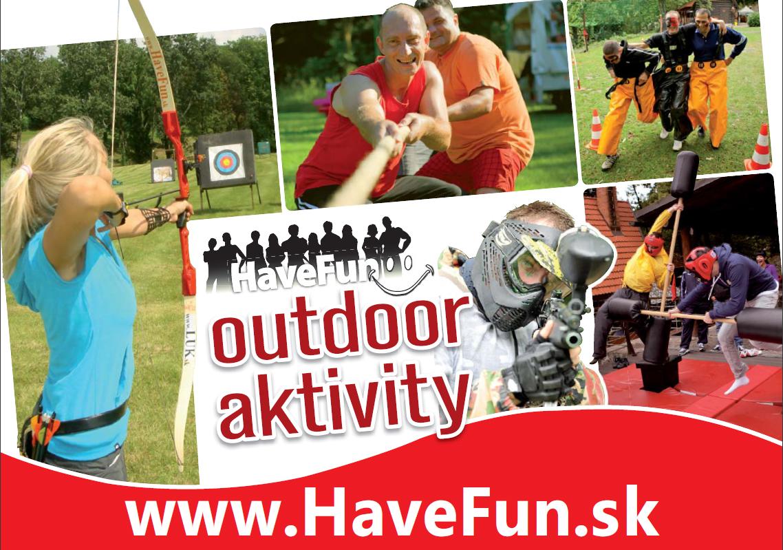 Aktivity a tematické teambuildingy HAVE FUN